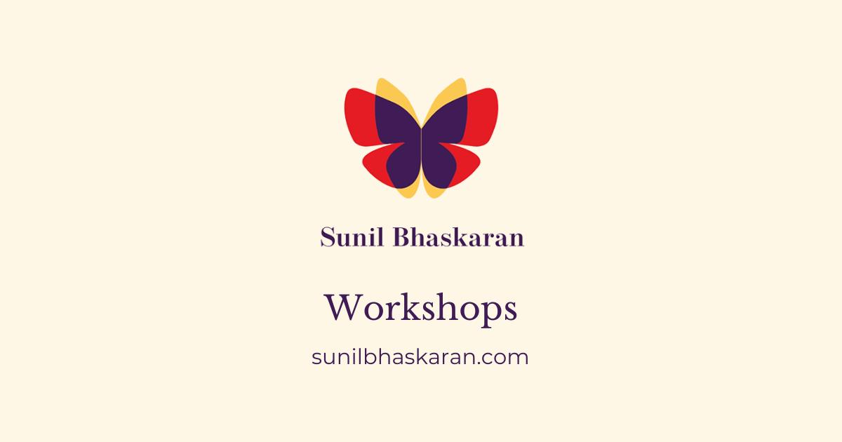 Sunil Bhaskaran presentations that sell
